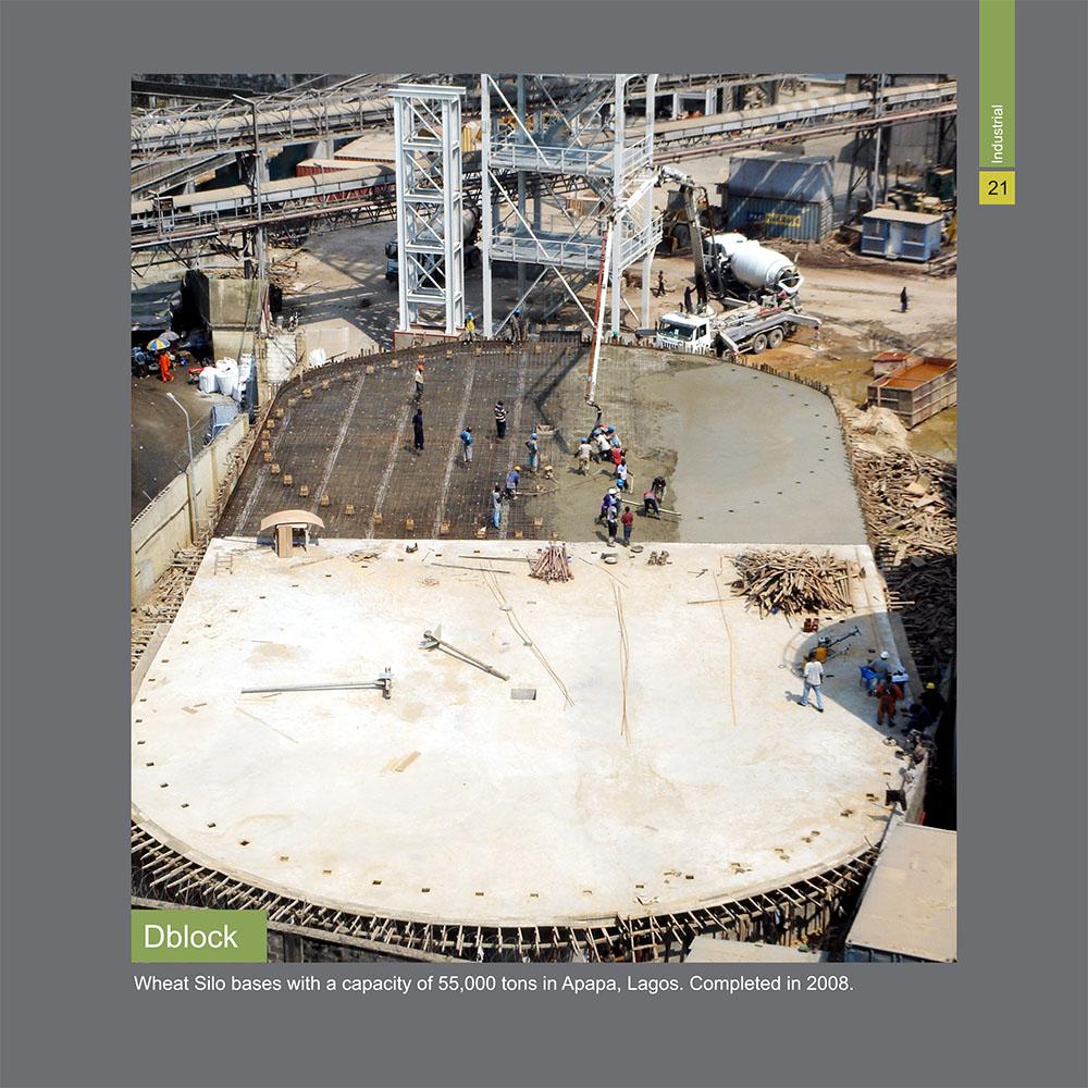 Photo de chantier vu de haut